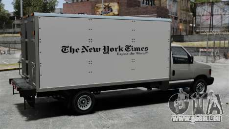 Die neue Werbung für LKW Steed für GTA 4 rechte Ansicht