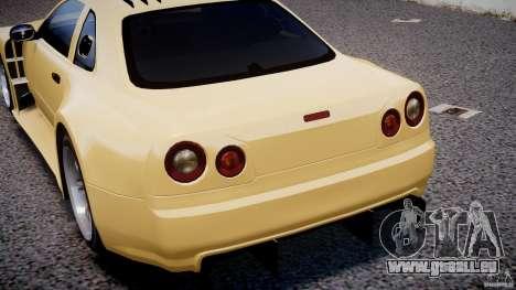 Nissan Skyline R34 v1.0 pour le moteur de GTA 4