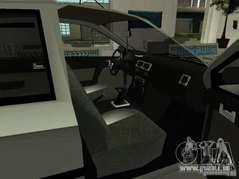 Hyundai Getz für GTA San Andreas Rückansicht