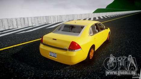 Chevrolet Impala 9C1 2012 für GTA 4 Seitenansicht