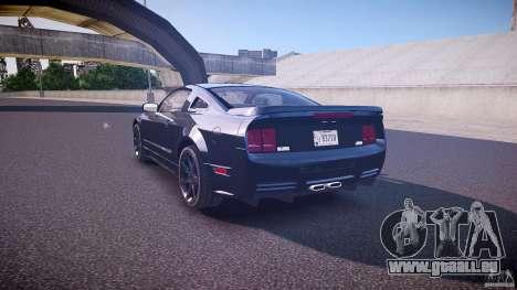 Saleen S281 Extreme Unmarked Police Car - v1.1 pour GTA 4 Vue arrière de la gauche