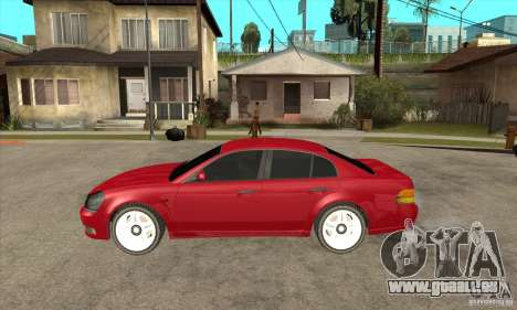 GTA IV Intruder für GTA San Andreas linke Ansicht