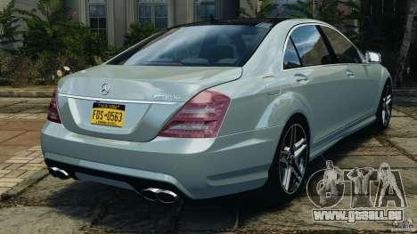 Mercedes-Benz S65 AMG 2012 v1.0 für GTA 4 rechte Ansicht