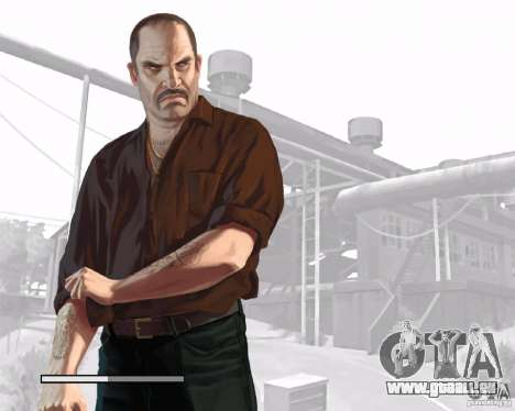 Écrans de chargement dans le style de GTA IV pour GTA San Andreas cinquième écran