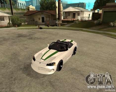 Dodge Viper SRT-10 für GTA San Andreas linke Ansicht