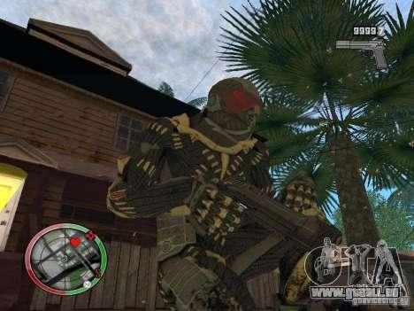 Collection d'armes de Crysis 2 pour GTA San Andreas cinquième écran