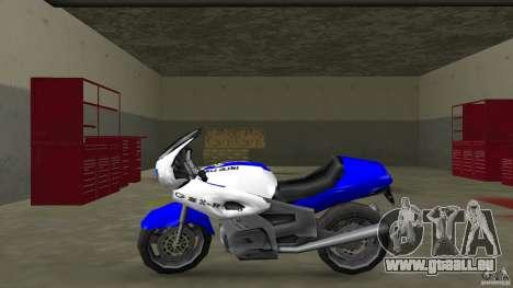 Suzuki GSX-R 600 beta 0.1 pour une vue GTA Vice City de la gauche