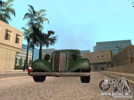 Accélération pour GTA San Andreas