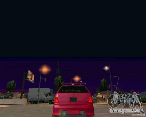 Stratum Tuned Taxi für GTA San Andreas Innenansicht