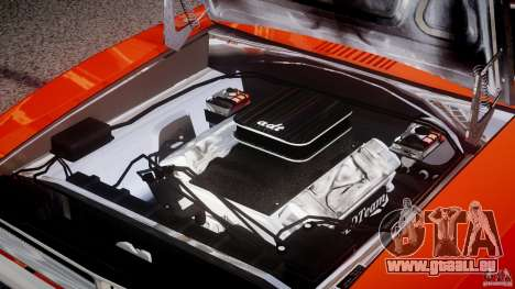 Dodge Charger General Lee 1969 für GTA 4 obere Ansicht