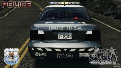 LCPD K9 Unit pour GTA 4 vue de dessus