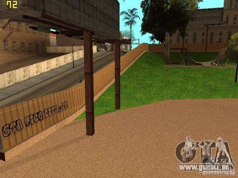 New SkatePark v2 pour GTA San Andreas septième écran