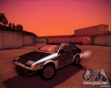 Toyota Corolla AE86 StreetAttack pour GTA San Andreas