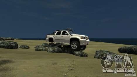 Chevrolet Avalanche 4x4 Truck pour GTA 4 est une gauche