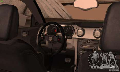 Ford Mustang GT 2005 pour GTA San Andreas vue de droite