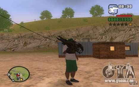 Lance-roquettes de PROTOTYPE pour GTA San Andreas