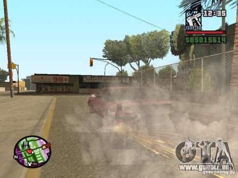 Overdose effects V1.3 pour GTA San Andreas neuvième écran
