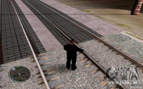 Rails russes pour GTA San Andreas huitième écran