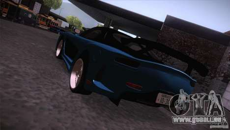 Mazda RX-7 Veilside v3 pour GTA San Andreas laissé vue