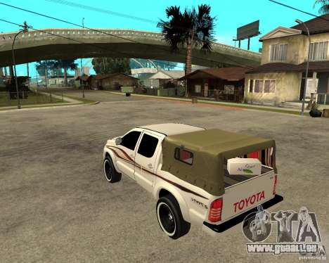 Toyota Hilux 2010 für GTA San Andreas linke Ansicht