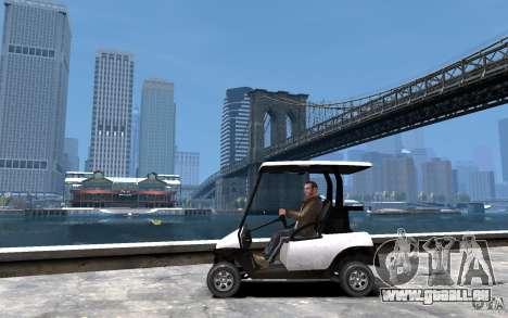 Caddy To IV pour GTA 4 est une gauche