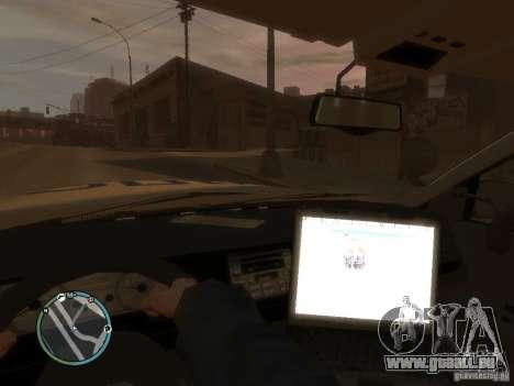 Ford Crown Victoria Police für GTA 4 rechte Ansicht