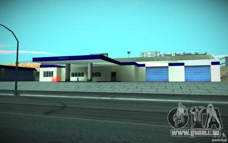 HD Garage in Doherty pour GTA San Andreas