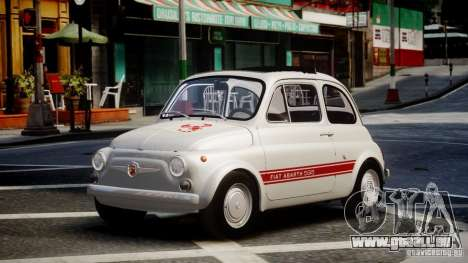 Fiat Abarth 595 SS 1968 pour GTA 4