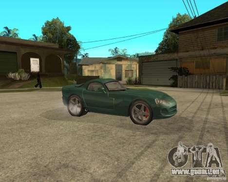 Dodge Viper Srt 10 pour GTA San Andreas vue de droite
