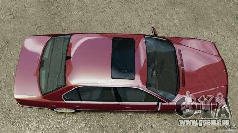 BMW 750iL E38 1998 pour GTA 4 est un droit