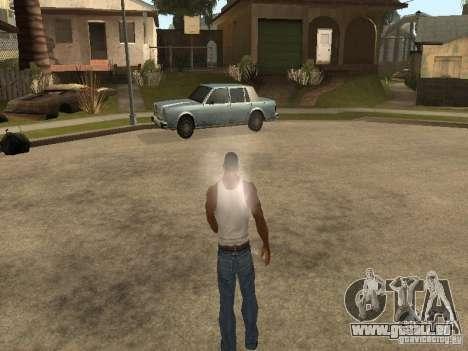 Sie können sitzen, Rauchen, trinken Whiskey, Erb für GTA San Andreas sechsten Screenshot