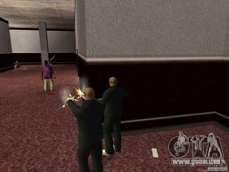 Double V 4.0 pour GTA San Andreas troisième écran