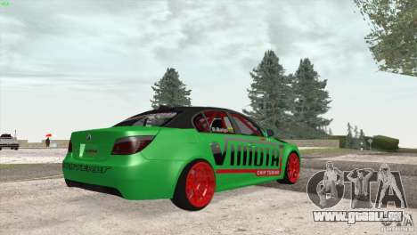 BMW M5 E60 Darius Balys für GTA San Andreas Rückansicht