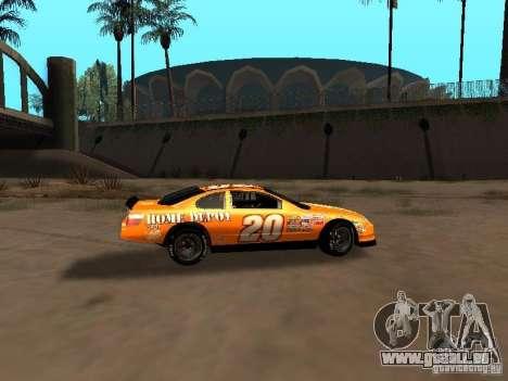 Toyota Camry Nascar Edition für GTA San Andreas Rückansicht
