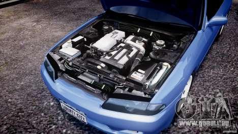 Nissan Skyline R32 GTS-t 1989 [Final] pour GTA 4 est une vue de l'intérieur
