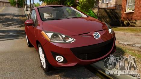 Mazda 2 2011 pour GTA 4