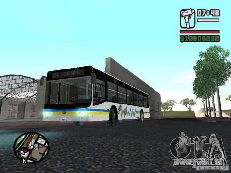 Onibus pour GTA San Andreas laissé vue