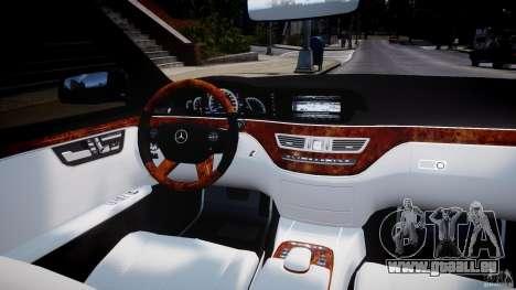Mercedes-Benz S63 AMG [Final] pour GTA 4 est un droit