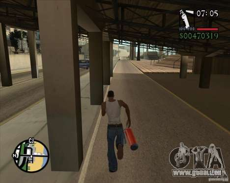 New Fonts für GTA San Andreas zweiten Screenshot
