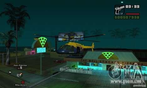 Helitours Maverick von GTA 4 für GTA San Andreas linke Ansicht