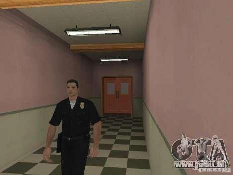 Notausgang von der LSPD für GTA San Andreas zweiten Screenshot