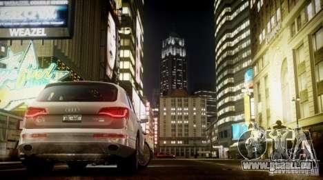 Audi Q7 V12 TDI Quattro Final für GTA 4 rechte Ansicht