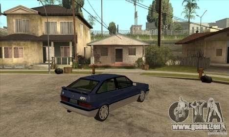 VW Gol GTI 1989 pour GTA San Andreas vue de droite
