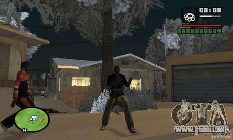 Monster energy suit pack pour GTA San Andreas cinquième écran