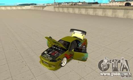 Nissan Skyline R34 GTR für GTA San Andreas Rückansicht