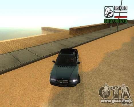 BMW 740i für GTA San Andreas linke Ansicht