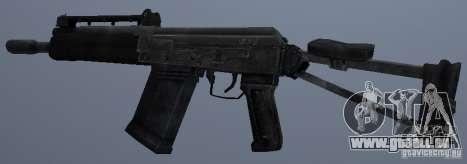 Saïga-12 s pour GTA San Andreas deuxième écran