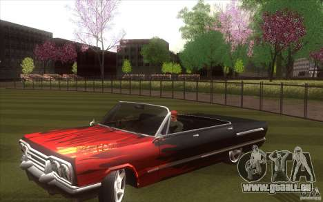 Savanna HD pour GTA San Andreas laissé vue