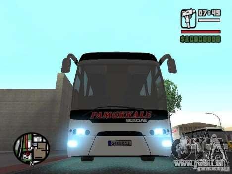 Neoplan Tourliner pour GTA San Andreas vue arrière
