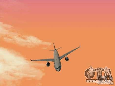 Airbus A330-300 US Airways für GTA San Andreas rechten Ansicht
